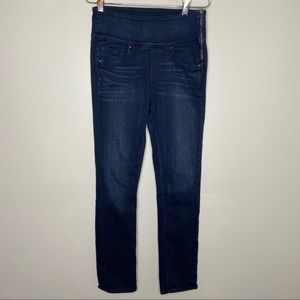 Spanx Dark Dipped Signature Straight Jeans Size 29